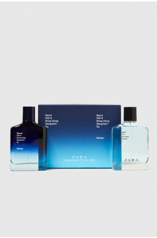 ZARA SEOUL EDT 100 ML + ZARA SEOUL WINTER EDT 100 ML