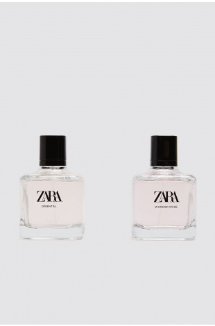 ZARA WONDER ROSE + ZARA ORIENTAL EDT 2x100ML (3.4 FL. OZ).BAYAN PARFÜM