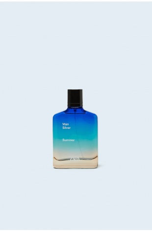 ZARA MAN SILVER SUMMER EDT 100 ML (3,4 FL. OZ).ERKEK PARFÜM