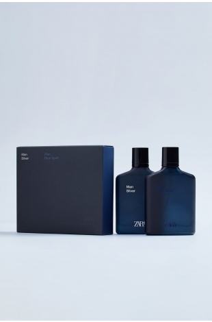 ZARA MAN BLUE SPIRIT + ZARA MAN SILVER EDT 100 ML (3,4 FL. OZ).