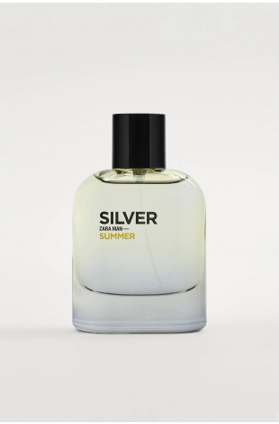 ZARA MAN SILVER SUMMER EDT 80 ML (2,71 FL. OZ). ERKEK PARFÜM