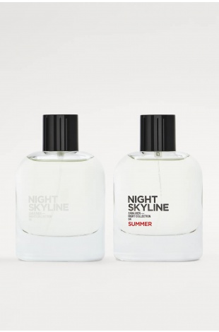 ZARA NIGHT SKYLINE + NIGHT SKYLINE SUMMER EDT 80ML - NIGHT COLLECTION (2,71 FL. OZ). ERKEK PARFÜM SETİ