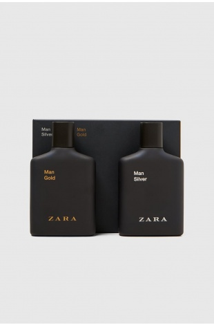 ZARA MAN GOLD + ZARA MAN SILVER EDT 100 ML