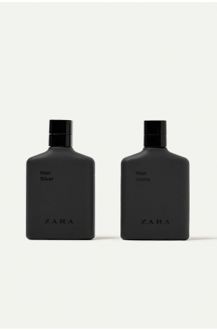 ZARA MAN UOMO + ZARA MAN SILVER EDT 100 ML